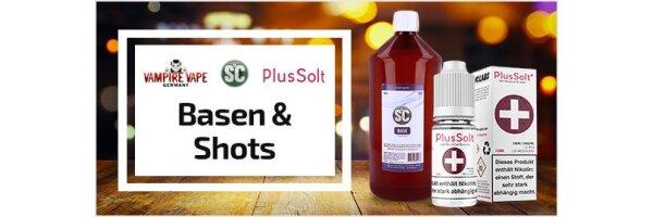 Basen und Nikotin-Shots