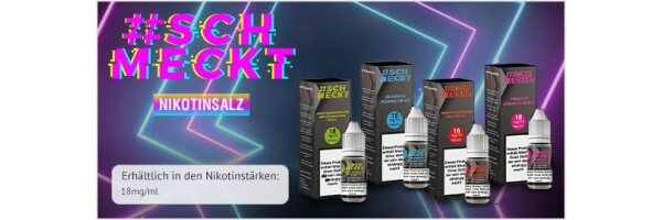 #Schmeckt Nikotinsalz Liquid