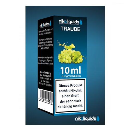 Nikoliquid Traube Liquid 10ml
