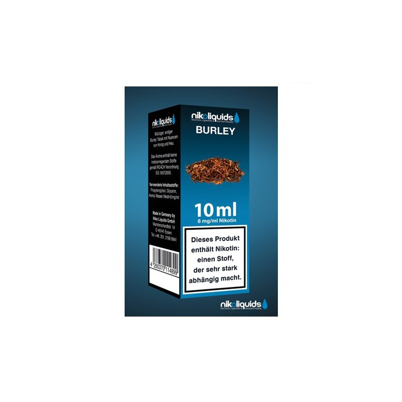 Nikoliquid Burley Liquid 10ml