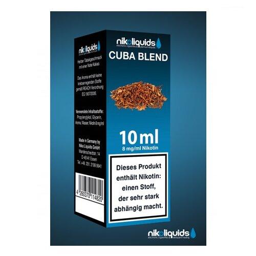 Nikoliquid C-u-b-a Blend Liquid 10ml