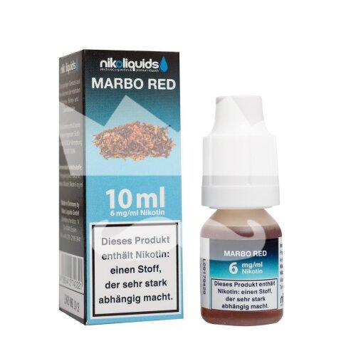 Nikoliquid Marbo Red Liquid 10ml