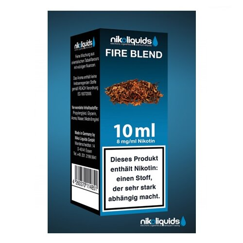 Nikoliquid Fire Blend Liquid 10ml