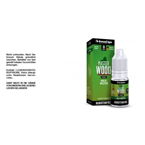 InnoCigs Liquid Master Wood Waldmeister
