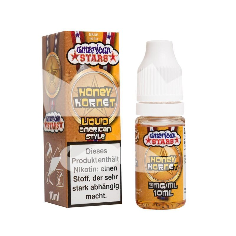 American Stars Honey Hornet Liquid made in EU