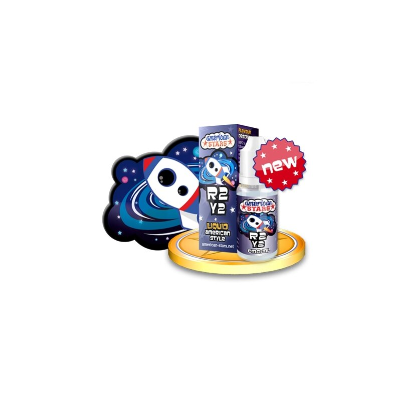 American Stars R2Y2 Vanille-Karamel-Tabakgeschmack Liquid made in EU