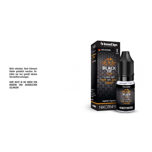 Black Tie Tabak Innocigs Classy Line Liquid