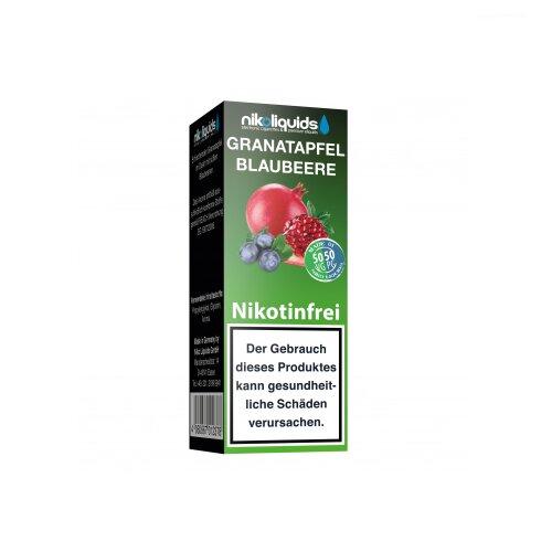 Nikoliquid 50-50 Liquid Granatapfel Blaubeere