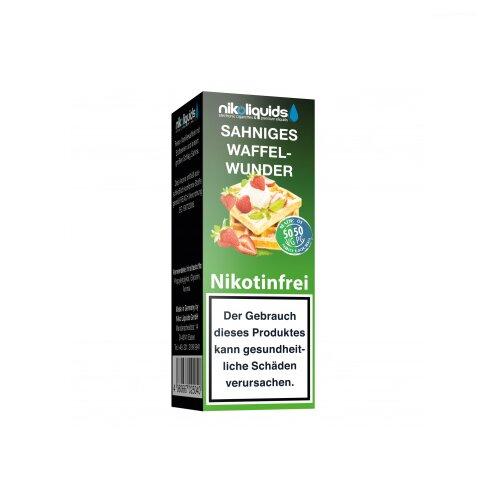Nikoliquid 50-50 Liquid Sahniges Waffelwunder