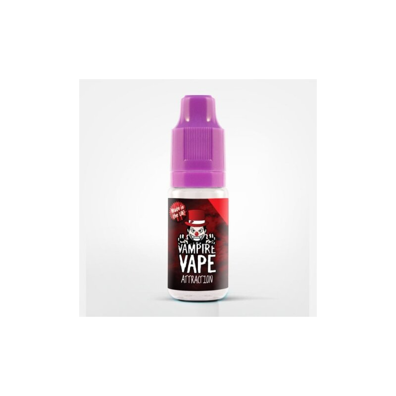 Vampire Vape Liquid Attraction - 0mg