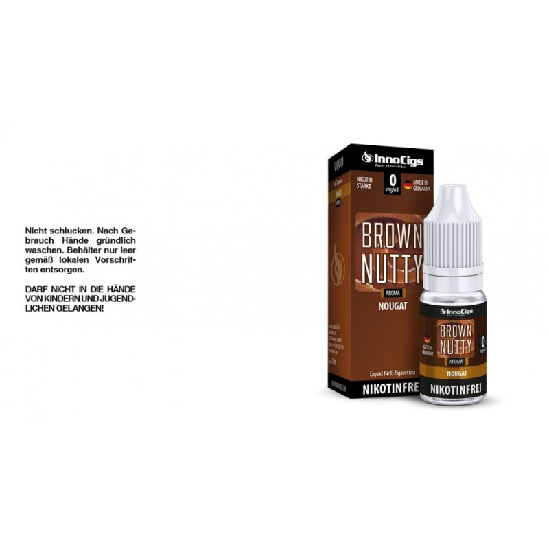 InnoCigs Liquid Brown Nutty Nougat - 3mg