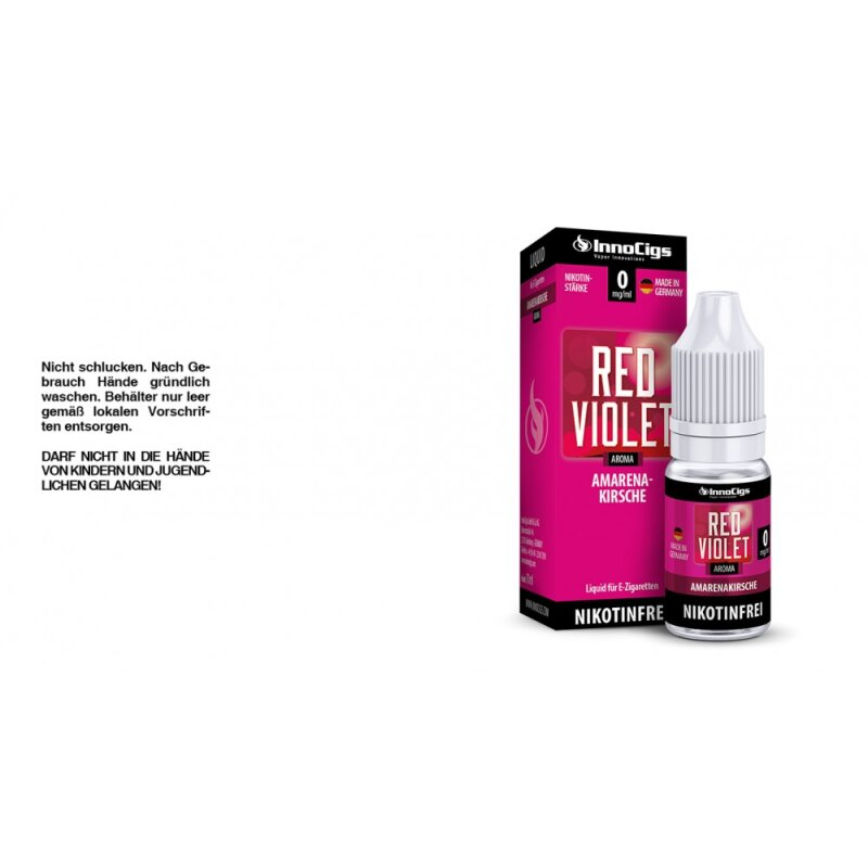 InnoCigs Liquid Red Violet Amarenakirsch - 3mg