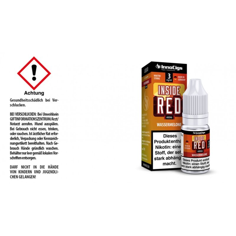 InnoCigs Liquid Inside Red Wassermelone - 3mg
