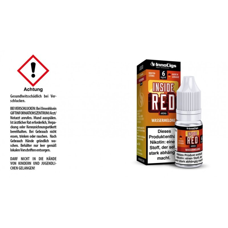 InnoCigs Liquid Inside Red Wassermelone - 6mg