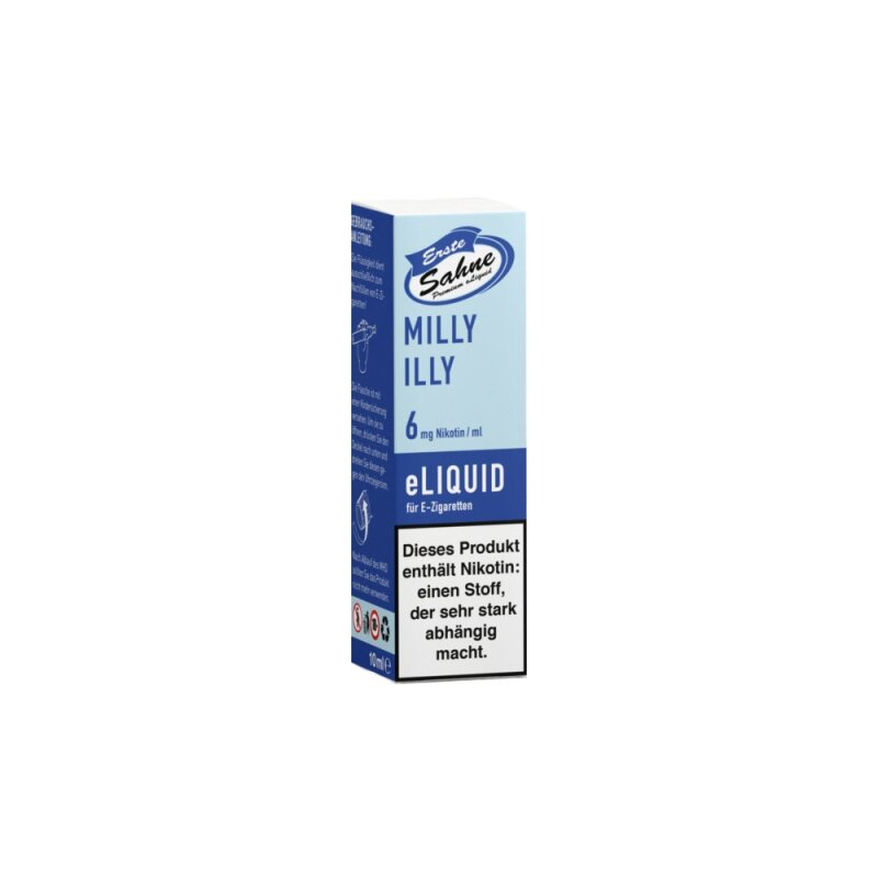 Erste Sahne Milly Illy Liquid eZigarette - 6mg