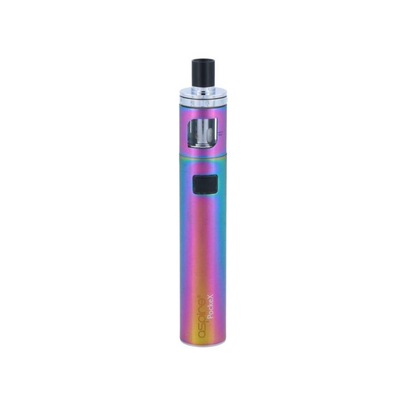 Aspire E-Zigarette PockeX, regenbogen