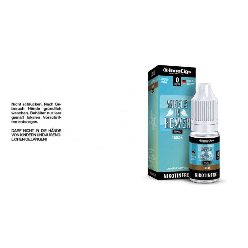 InnoCigs Liquid Angels in Heaven Tabak - 0mg