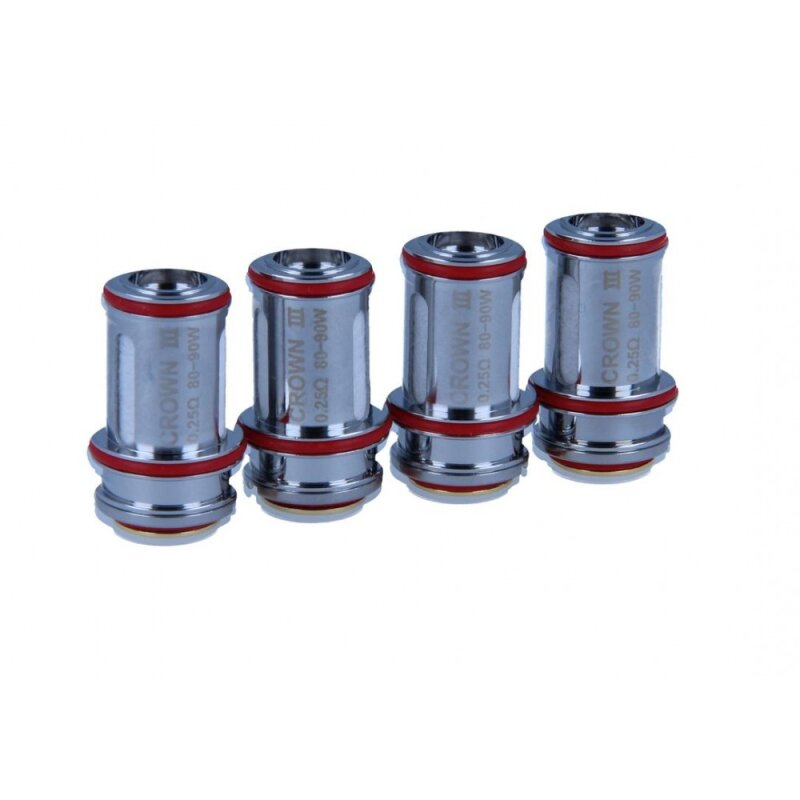 Uwell Crown 3 Parallel Verdampferköpfe 4er Pack 0,5 Ohm
