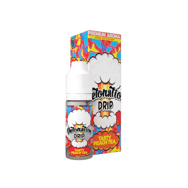 Aroma Detonation Drip Tasty Peach Tea 10ml