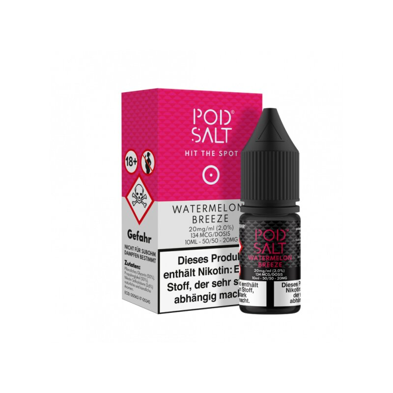 Pod Salt Watermelon Breeze Nikotinsalz Liquid 20mg