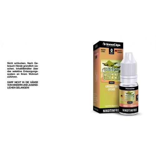 Chinese Green Grüner Tee-Lychee Aroma InnoCigs Liquid