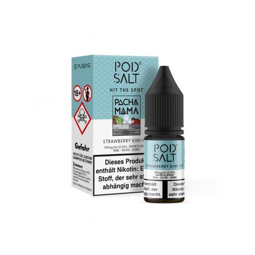 Pod Salt Liquid Fusion Strawberry Kiwi Ice Nikotinsalz